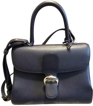 Delvaux Le Brillant Blue Leather Handbags