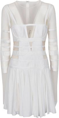 Giovanni Bedin Tulle Body Mini Dress