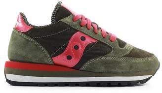 Saucony Jazz Triple Ponyskin Green Raspberry Sneaker