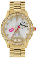 Betsey Johnson Betseys Holiday Eiffel Tower Watch