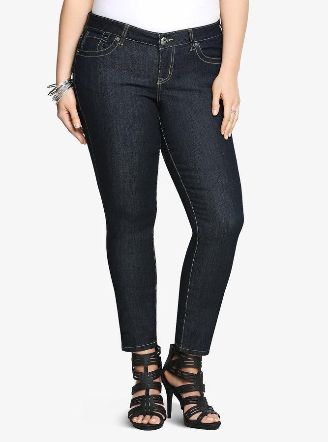 Torrid Skinny Jean - Dark Rinse (Short)
