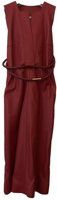 Hermes Red Leather Dress for Women