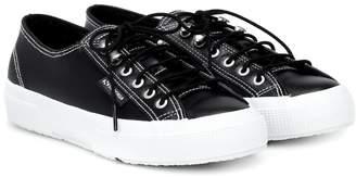 ALEXACHUNG x SUPERGA leather sneakers