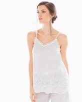 Soma Intimates Cotton Pajama Tank Bright White
