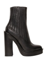 Kenzo 140mm Leather Ankle Boots