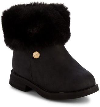 Nicole Miller Little Girl's Faux Fur-Trim Boots