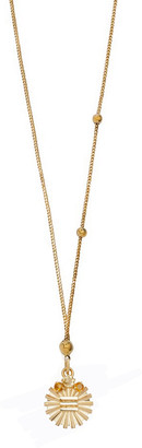 Foundrae Dotted Choker Metal Element Necklace - Yellow Gold
