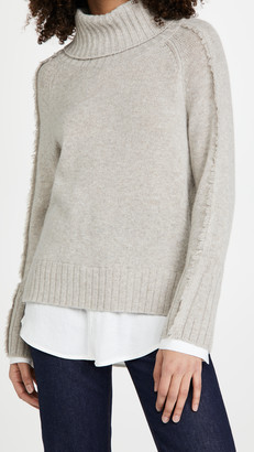 Brochu Walker Jolie Fringe Layered Looker Sweater