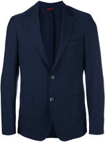 Fay button up blazer - men - Mohair/Virgin Wool - 48