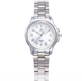 LABIUO Women Fashion Stainless Steel Band Analog Quartz Round Wrist Watch Watches