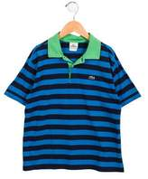 Lacoste Boys' Striped Polo Shirt