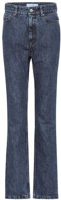 Matthew Adams Dolan High-rise straight jeans