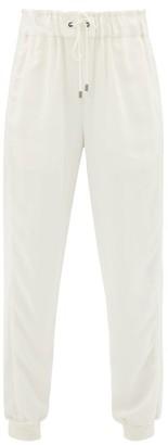 Vaara Clemmie Crepe Track Pants - Womens - Cream