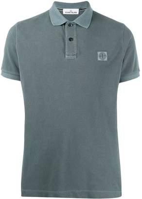 Stone Island short-sleeve polo shirt