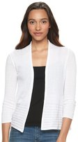 Apt. 9 Women's Ribbed Cardigan