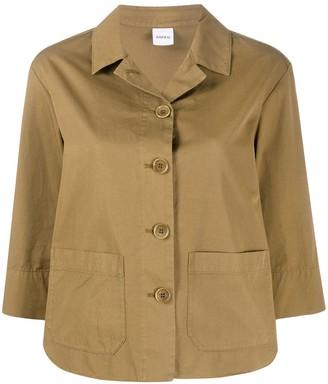 Aspesi Patch Pocket Cotton Shirt Jacket