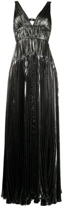 Maria Lucia Hohan Ayana metallic-sheen dress