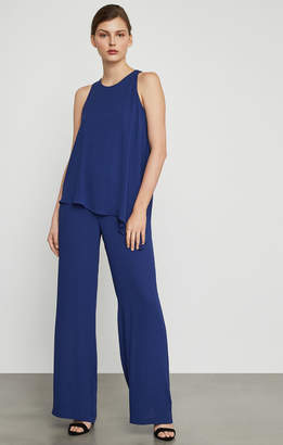 BCBGMAXAZRIA Hadli Sleeveless Draped Jumpsuit