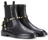 Balenciaga Embellished Leather Chelsea Boots