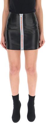 Heron Preston Zip Detail Mini Skirt