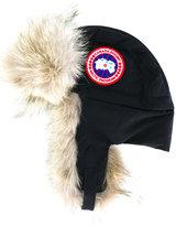 Canada Goose fur lined flight hat
