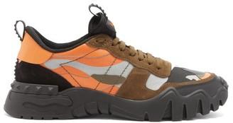 Valentino Orange Men's Sneakers | Shop