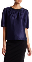 Canvas by Lands' End Canvas by Lands& End Elbow Sleeve Blouse