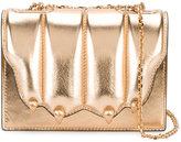 Marco De Vincenzo cat's claw metallic shoulder bag - women - Leather - One Size