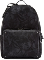 Valentino Black Butterfly Backpack