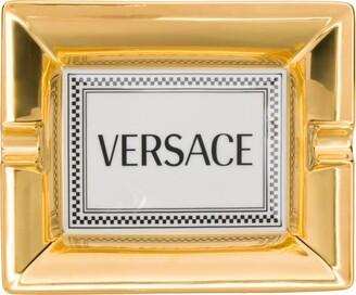 Versace Home Logo Print Tray