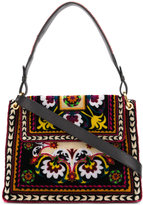 Etro folk print shoulder bag
