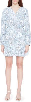 Parker Harbin Long Sleeve Silk Dress