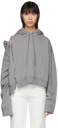 Maison Margiela Grey Multi-Wear Zip Hoodie