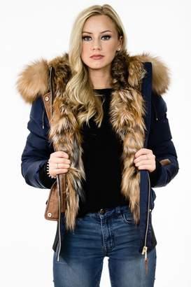 Nicole Benisti Mayfair Fur Bomber