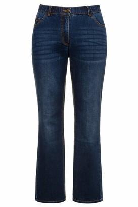 Ulla Popken Women's Onlclean L/s Rollneck Dress KNT Bootcut Jeans