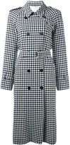 Sonia Rykiel check print coat - women - Wool - 40