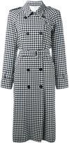 Sonia Rykiel check print coat