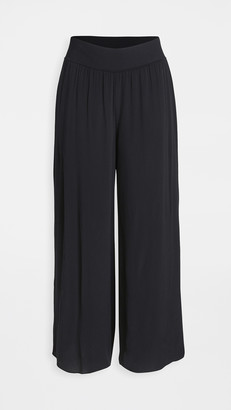 Theory Ribbed Waistband Trousers