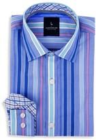 Tailorbyrd Boys' Silver Moon Multi Striped Shirt - Sizes 8-18