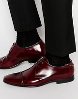 Ps By Paul Smith Robin Toe Cap Derby Shoes