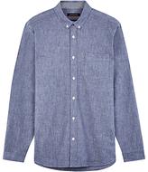 Jaeger Chambray Regular Fit Shirt, Blue