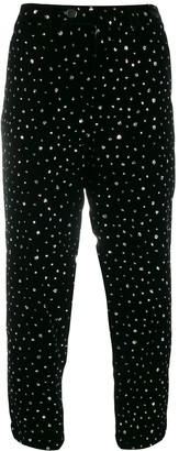 Roseanna Embellished Crop Trousers