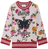 Gucci Embroidered Bonded Sweatshirt