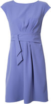 Armani Collezioni belted draped dress - women - Polyester - 40