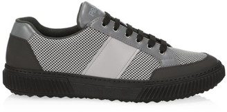Prada Stratus Colorblock Mesh Sneakers