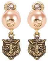 Gucci Feline earrings