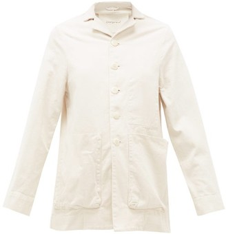 Toogood The Photographer Cotton-canvas Jacket - Ivory