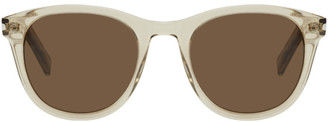 Saint Laurent Yellow SL 401 Sunglasses