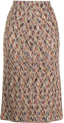 Missoni Pre-Owned Crocheted Pencil Skirt