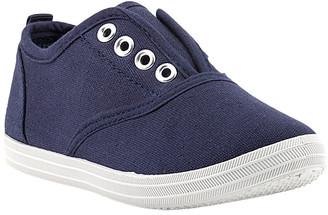 ZOOGS Sneakers NAVY - Navy Slip-On Sneaker - Kids